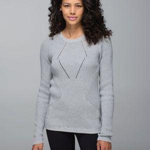 Gray workout sweater - CA021